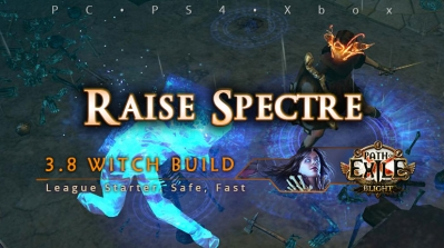 [Witch] PoE 3.8 Raise Spectre Necromancer Starter Build (PC, PS4, Xbox)
